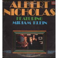 Albert Nicholas Feat Miriam Klein Lp Vinile Untitled /  Europa EUR 413 Nuovo