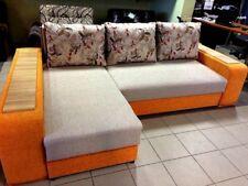New Corner sofa bed, size 2.55m x 1.65m sleeping area 2.05m x 1.65m