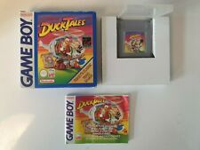 NEU RARE DUCKTALES CLASSIC Nintendo Gameboy Game boy Boxed boite OVP DMG-DT-EUR