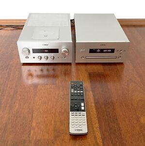 YAMAHA MCR R-840 & CD-640 inkl. Fernbedienung und System-Connector Kabel
