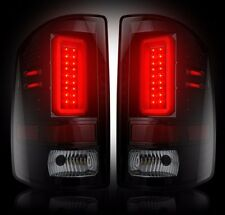 RECON Smoked LED Tail Lights 2014-2017 GMC Sierra 1500/2500/3500