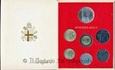 1983 Vaticano Serie divisionale FDC Papa Giovanni Paolo II 1000 Lire argento