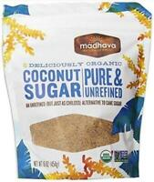 6 Pack : Madhava Organic Coconut Sugar 16-ounce
