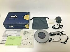 Sony Vintage CD Walkman Model D-FJ787  Rare Portable Audio Headphones