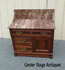 62399  Antique Eastlake Victorian Washstand Dresser Chest Cabinet