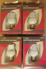 HE205S HOME-EASY BYRON REMOTE CONTROL BULB HOLDER SCREW CAP BNIP X4