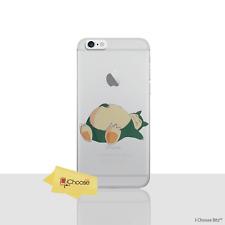 Pokemon Case/Cover Apple iPhone 6/6s / Screen Protector / Silicone / Snorlax Nap