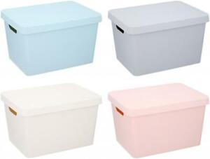 Plastic 17Lt Storage Box with Lid
