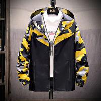 2019 new Man jackets Camouflage Hoodie Jacket Clothes Men's Windbreaker coat