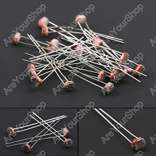 20Pcs Nuevo GL5539 5mm Light Resistencia Resistor Photoresistor Fotoresistor