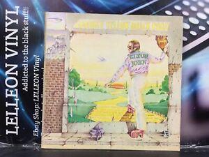 Elton John Goodbye Yellow Brick Road Double LP Album Vinyl Rec DJLPD1001 Pop 70s