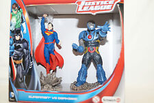 Schleich SUPERMAN vs DARKSIDE Justice League 22509 Duo Scenery Pack DC Universe