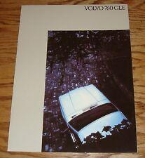 Original 1984 Volvo 760 GLE Foldout Sales Brochure 84