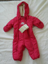 Baby girl snowsuit, size 3-6 months, hot pink, brand new