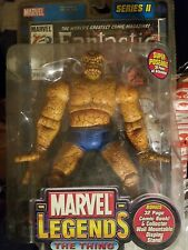 Toy Biz 2002 Marvel Legends THE THING Action Figure in package Fantastic Four
