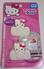SANRIO Hello Kitty Japan Import Kawaii Cute Magnet Clip 2 pieces
