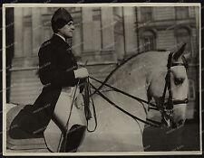 Lipizzaner/Pferd-Wiener Hofreitschule-Wien-Minister Mussolini/DR.Dollfuss-
