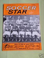 SOCCER STAR - UK FOOTBALL MAGAZINE - 17 AUG 1963 - COVER PIC - ROTHERHAM UNITED