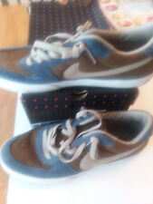 NIKE MAVRK Low 2 Skateboard Shoes Size 11 2007 313067 221 Kakhi / Gray