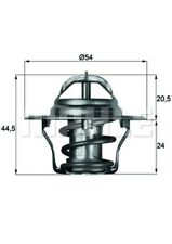 MAHLE ORIGINAL Thermostat Kühlmittel TX 4 83D für OPEL CAMPO CORSA TR MONTEREY 1