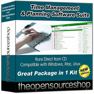 Pro Time Management Collection Suite -  Note Taking Software & Task Manager