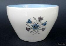Copeland Spode Open Sugar Bowl Hamilton Pattern Blue Interior Floral Design