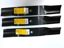 """set of 3 Kubota 48"""" mower blades RCK48-20ZG RCK48-GR RCK48P-18BX K5575-34330"""