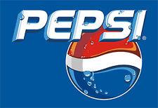 """Pepsi Cola Vinyl Sticker Decal 18"""" (full color)"""