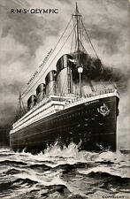 RMS Olympic. Wireless Telegraphy.