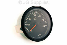 Tachometer Rev Counter 0-6000 RPM 85mm Alternator Driven Type With W Terminal