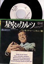 "7"" JAPAN WHITE PROMO IRISH SINGER VAL DOONICAN IF THE WHOLE WORLD STOPPED LOVIN'"