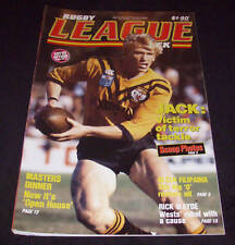 Rugby League Week Newspaper/Magazine Vol 16 No 22  1985
