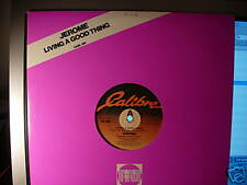 "JEROME - LIVING A GOOD THING - UK 12"" - SOUL FUNK - N/M 1984"