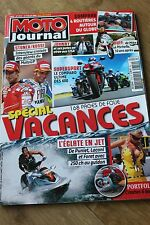 MOTO JOURNAL N°1819 VALENTINO ROSSI ★ JOHNNY HALLYDAY ★ SUZUKI 1250 BANDIT 2008