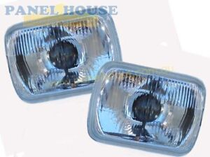 Mitsubishi Triton ME-MJ Ute 86-96 Pair Of 7x5 Headlights H4 Type With Park New