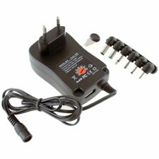 Alimentador Transformador Corriente Universal Regulable 30W 2.1A - 3V-12V USB