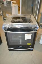 "Whirlpool Wee745H0Fe 30"" Black Ice Slide-In Electric Range Nob T2 #22791"