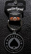 MOTORHEAD - OFFICIAL KEYCHAIN BORN TO LOSE - LIVE  TO WIN METAL KEY RING