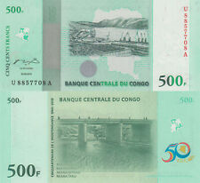Congo DR 500 Francs (30.06.2010) - 50 Year Commemorative/p100 UNC