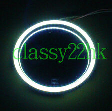 Bright LED White ring + 9 Voltage battery Holder w/Switch FOR LION DANCE PARTS