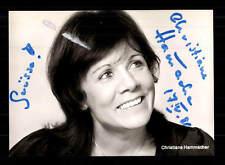 Christiane Hammacher rüdel AUTOGRAFO MAPPA ORIGINALE FIRMATO # BC 91012