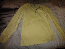 Topman Mens Plain Yellow Sweatshirt Size M GENUINE