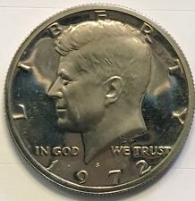 1972 S Kennedy Half Dollar Gem  -Clad Proof Coin.  Free Shipping!!!!!!!!!!