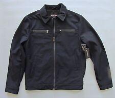 Michael Kors Men's Softshell Jacket Medium Midnight Blue Polyester Coat 2015 NEW