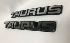 1992-1995 Ford Taurus emblem Emblems chrome logo badge symbol oem used Pair