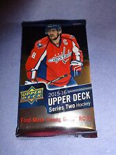 2015 - 16 Upper Deck Hockey Hobby Pack Series 2 Fresh from Sealed Box!