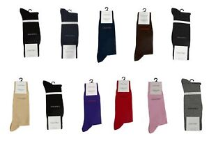 Calvin Klein Men's Fine Egyptian Cotton Dress Socks NEW