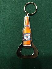 Miller Lite BOTTLE LID OPENER Beer Can Top Keychain Keyring