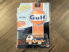 Johnny Lightning 1:64 Gulf Dodge A-100 Pick Up Truck Diecast Car JLCP7124 Chase