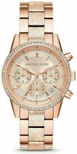 Michael Kors Ritz MK6598 37mm Rose Gold Stainless Steel Women's Wristwatch